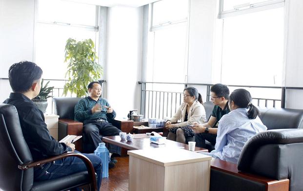 考察交流|热烈欢迎广西自然资源职业技术学院领导一行来我司考察交流